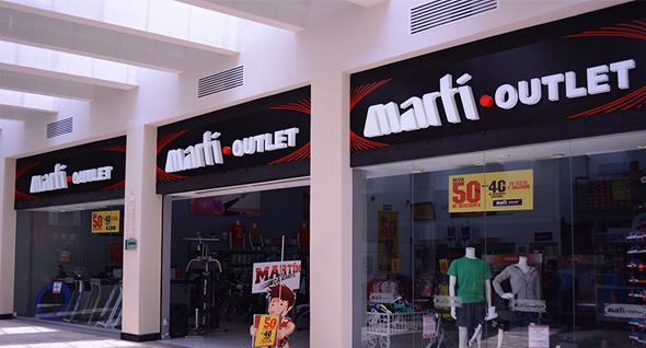 outlets martì