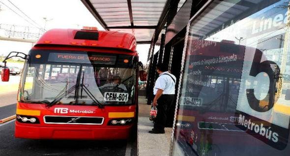 10 viajes en metrobus