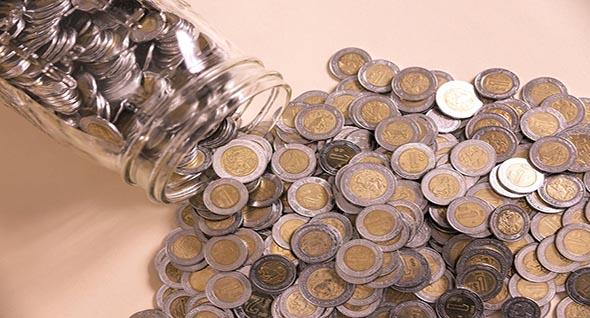 El famosísimo frasco de las monedas
