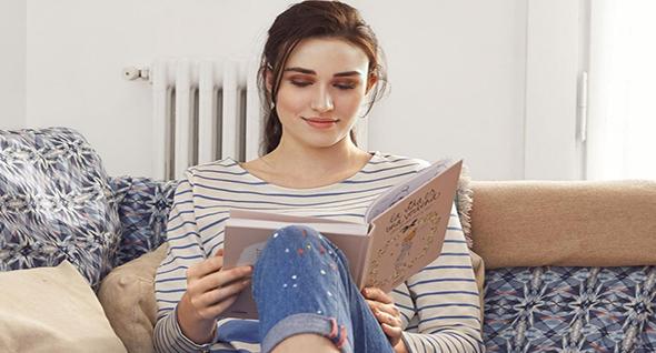 Ocupa el fin de semana en leer un libro