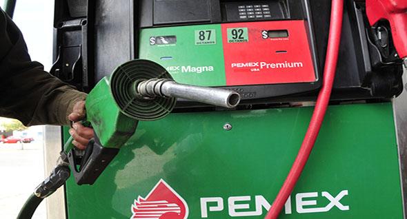 Costo de la gasolina